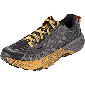 Hoka One One Speedgoat 2 Running Shoes Men black/kumquat
